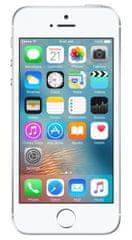 Apple iPhone SE, 64 GB, srebrny, stříbrný