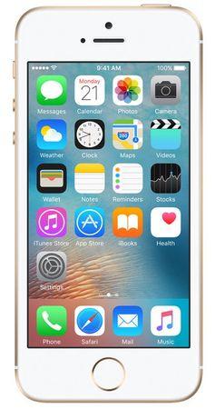 Apple iPhone SE, 32 GB, zlatý