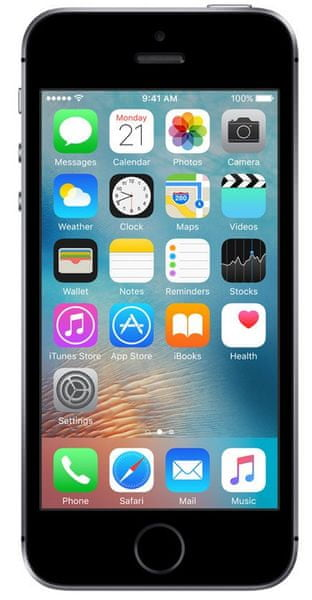 Apple iPhone SE, 16 GB, Vesmírně šedý