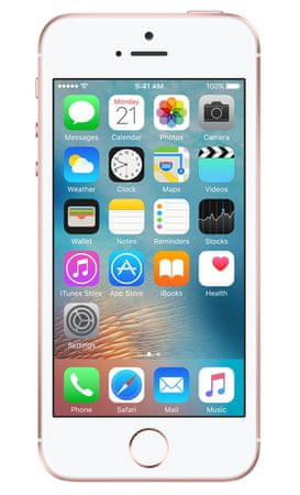 Apple iPhone SE Mobiltelefon, 128 GB, Rose Gold