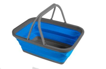 Kampa košara za pranje posode, modra, velika
