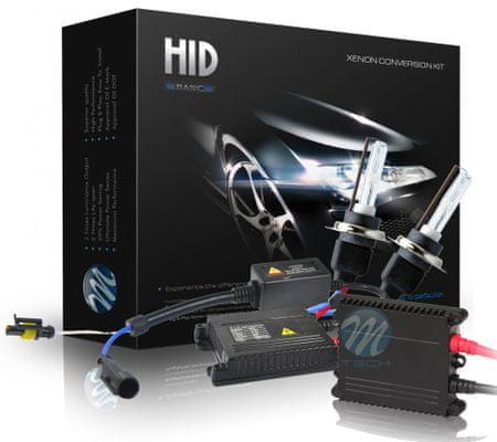 M-Tech kit Xennon žarnic Basic H1 4300K