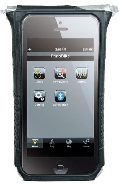 Topeak SmartPhone DryBag pro iPhone 5 černá - II. jakost