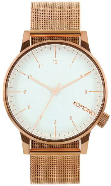 Komono Winston Royale Rose Gold-White