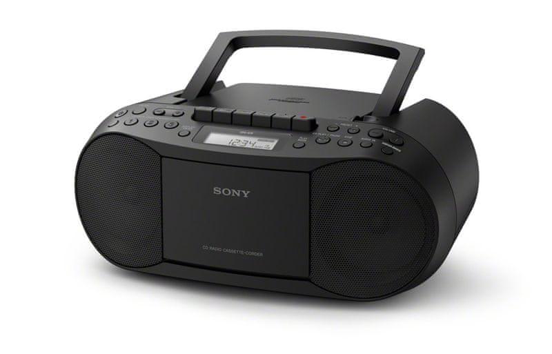 Sony CFD-S70 černá - II. jakost