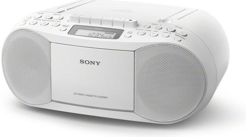 Sony CFD-S70W, bílá