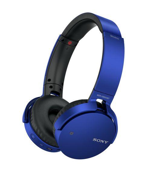Sony MDR-XB650BTL, modrá
