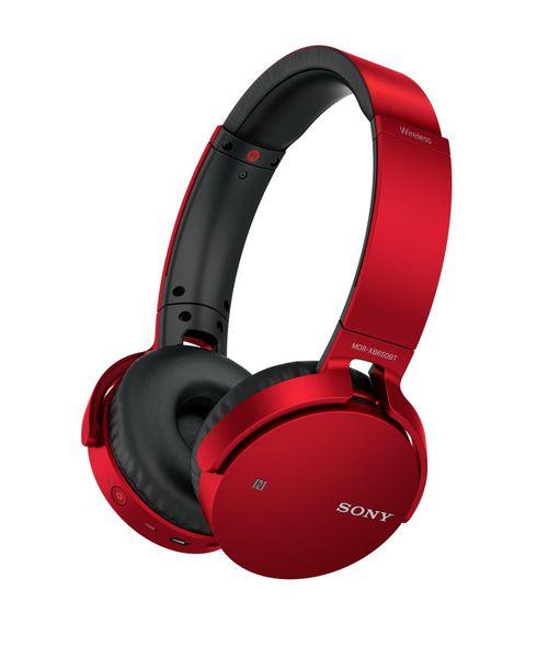 Sony MDR-XB650BTR, červená