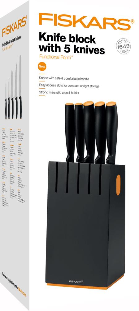 Fiskars Functional Form Sada nožů černý 1014190