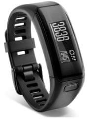 Garmin merilnik aktivnosti Vivosmart HR, črn