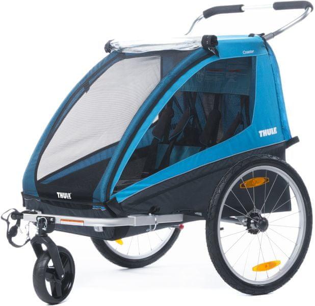 Thule cyklovozík Coaster XT Bike Trailer+Strol