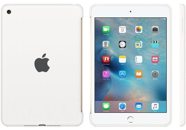 Apple Ipad Mini 4 Silicone Case White mkll2zm/A