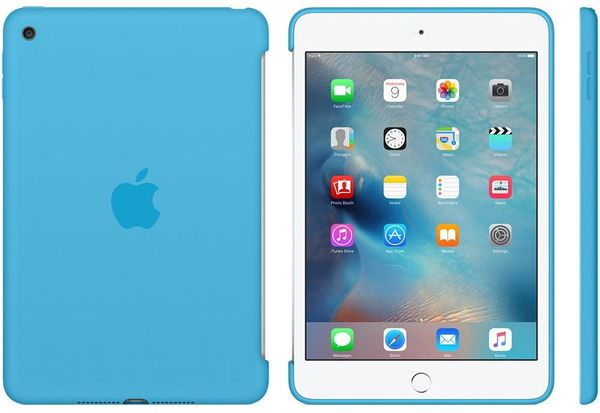 Apple Ipad Mini 4 Silicone Case Blue mld32zm/A