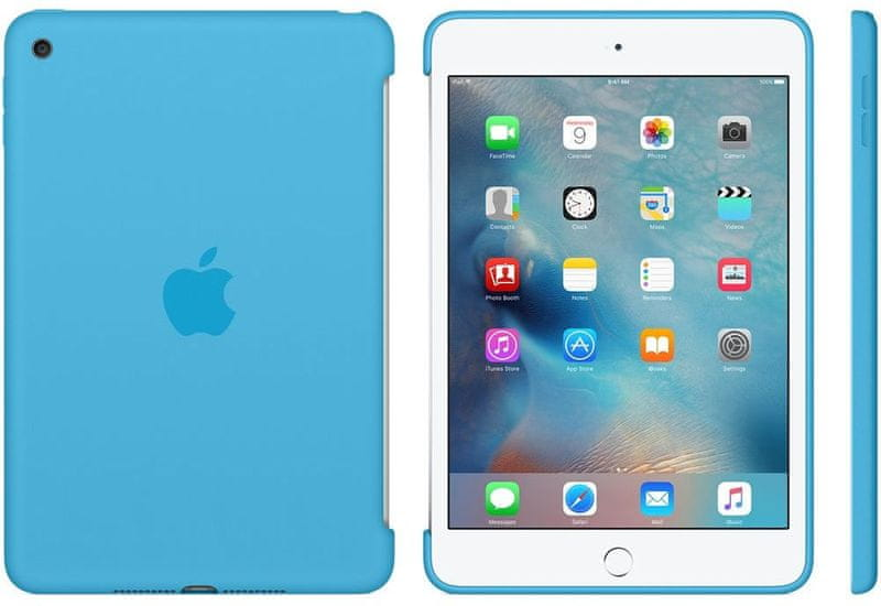 Apple iPad mini 4 Silicone Case Blue (MLD32ZM/A)