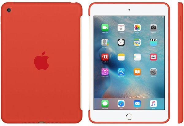 Apple Ipad Mini 4 Silicone Case Orange mld42zm/A