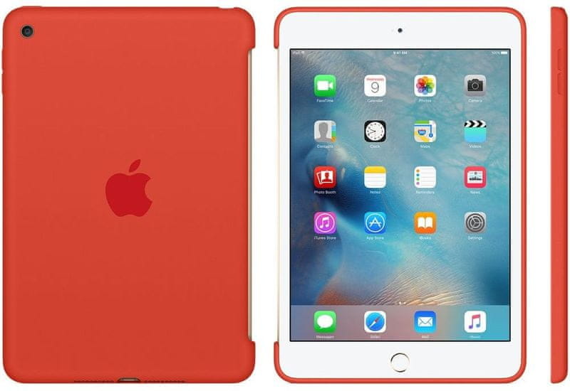 Apple iPad mini 4 Silicone Case Orange (MLD42ZM/A)