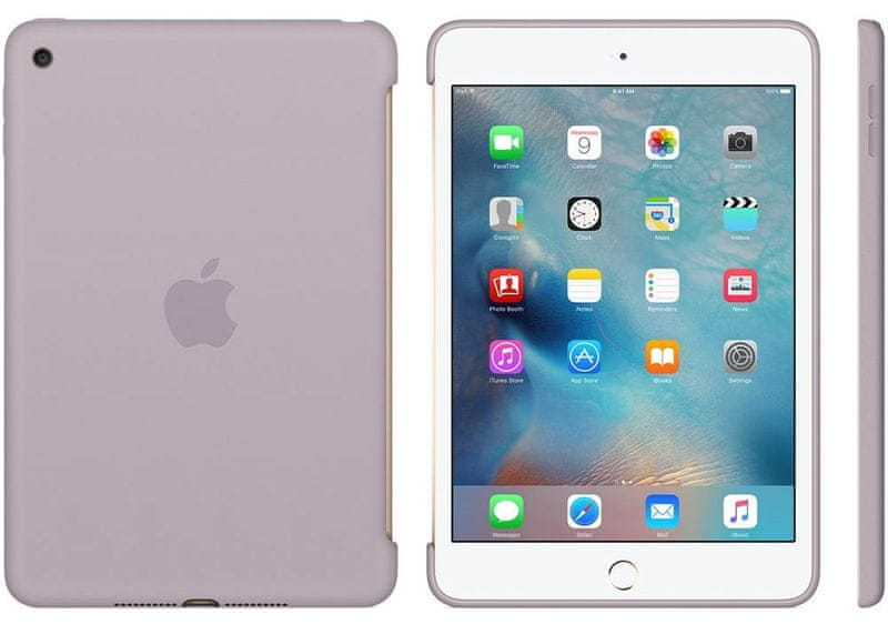 Apple iPad mini 4 Silicone Case Lavender (MLD62ZM/A)
