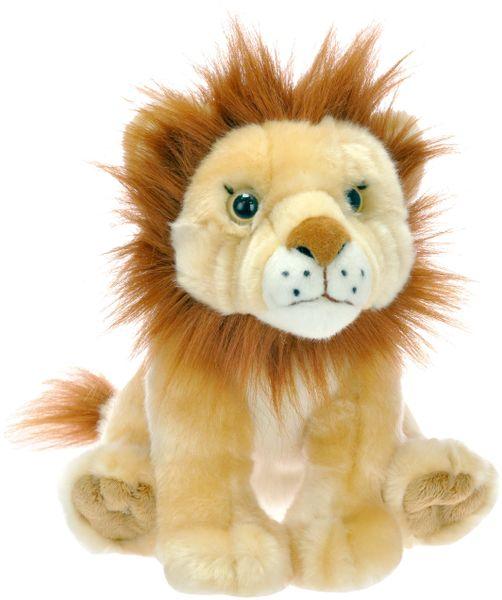 Mikro hračky Lev plyšový sedící 25cm