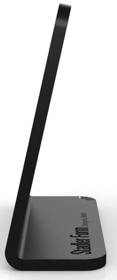 Stadler Form higrometer in termometer Selina, črn