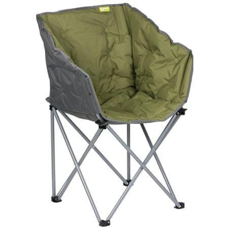 Kampa stolica za kampiranje Tub, zelena