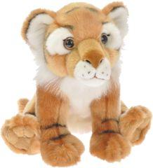 Mikro hračky Tygr plyšový sedící 27cm