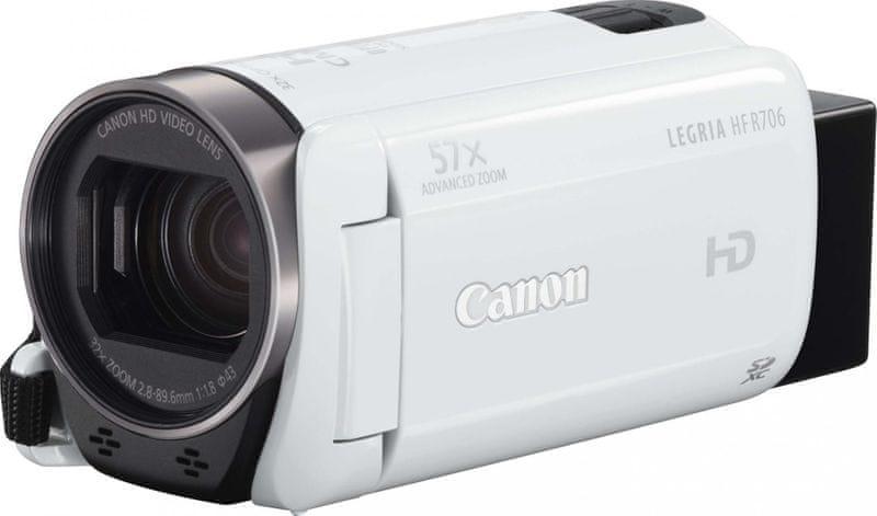 Canon LEGRIA HF R706 White + 600 Kč od Canonu zpět