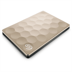 Seagate prenosni disk 1TB 2,5 USB 3.0 Backup plus - zlat ultra slim