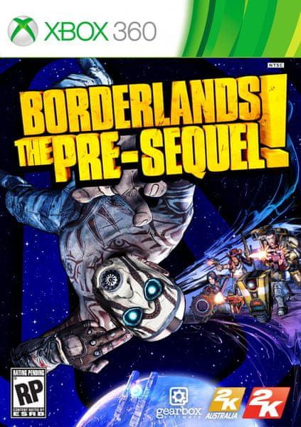 2K games Borderlands The Pre-Sequel / Xbox 360