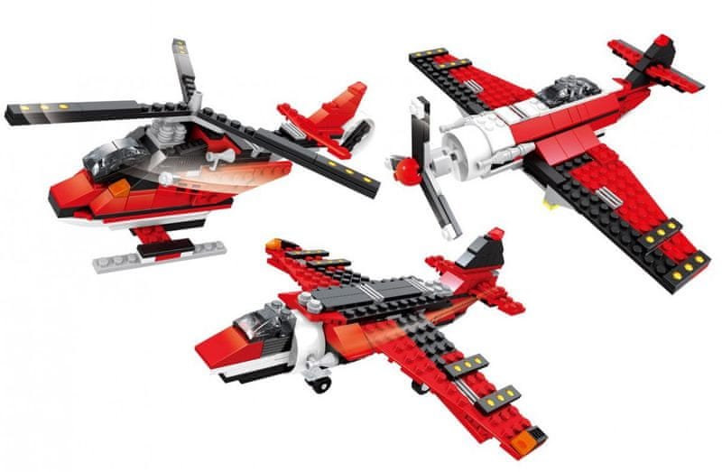Ausini 3 v 1 letadla, 265 dílů