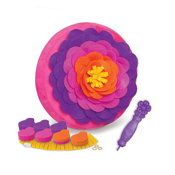 Orb Factory Polštář květina kreativní, +90 dílků
