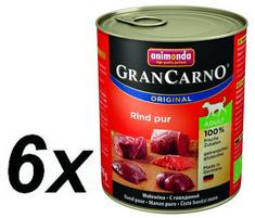 Animonda mokra karma dla psa Grancarno Adult  wołowina 6 x 800g