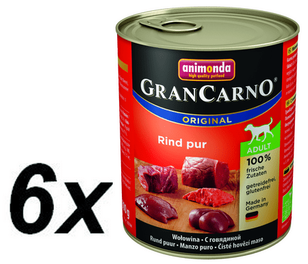 Animonda Grancarmo Adult - hovädzie 6 x 800g