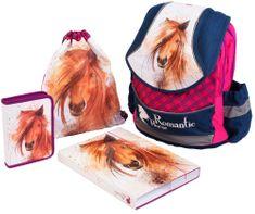 Karton P+P Plus Iskolatáska szett, Romantic Horse