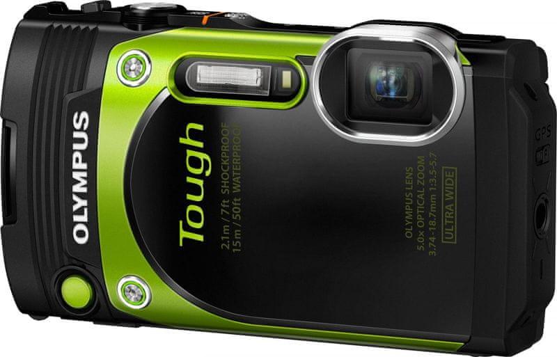 Olympus Tough TG-870 zelená