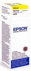 Epson tinta 70 ml, L800, žuta