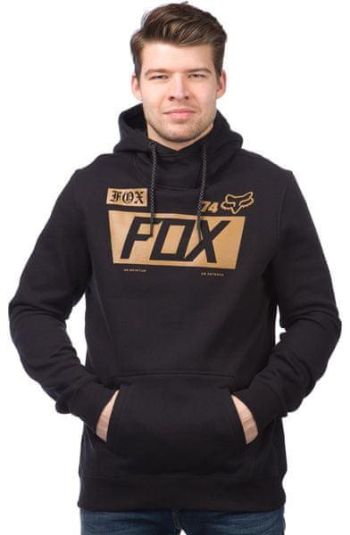 FOX pánská mikina Union Pullover S černá