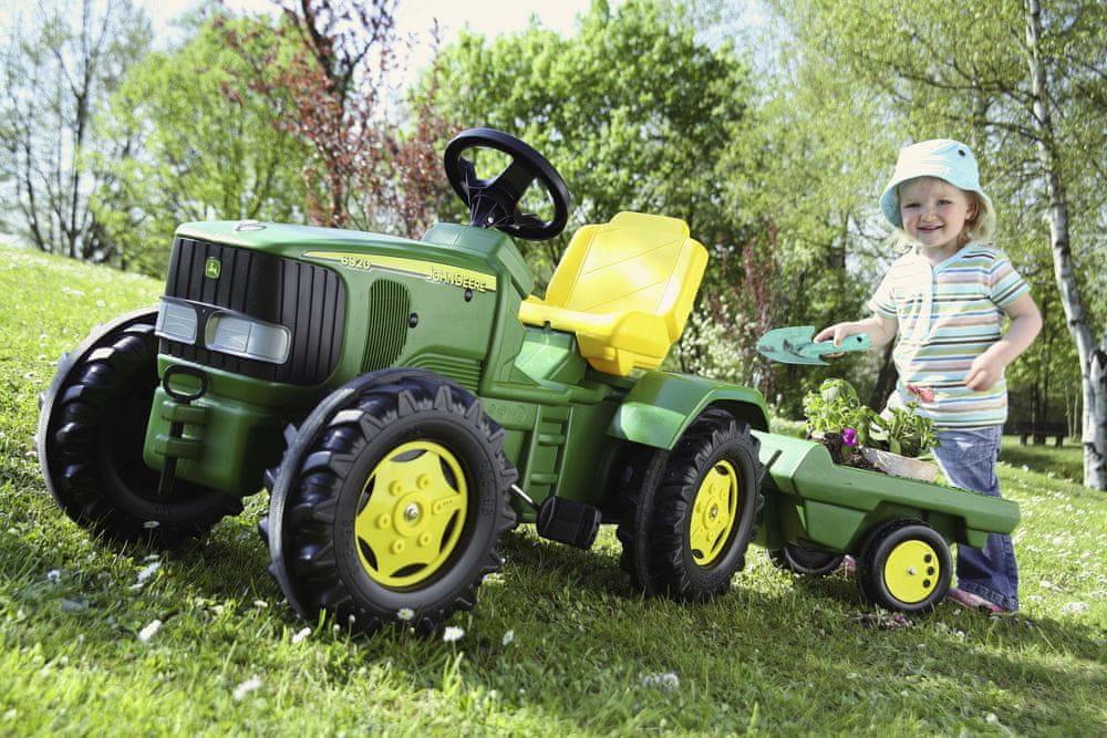 Rolly Toys Šlapací traktor John Deere 6920