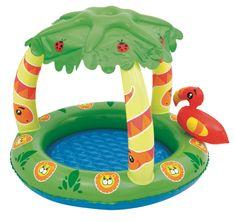 Bestway Nafukovací bazén so strieškou jungle