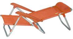 Eurotrail stol za na plažo Malorca oranžna