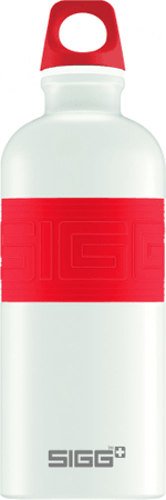 Sigg CYD Pure White Touch red 0,6L