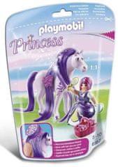 Playmobil princesa Viola s konjem 6167