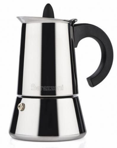 Barazzoni kávovar nerezový 4 šálky