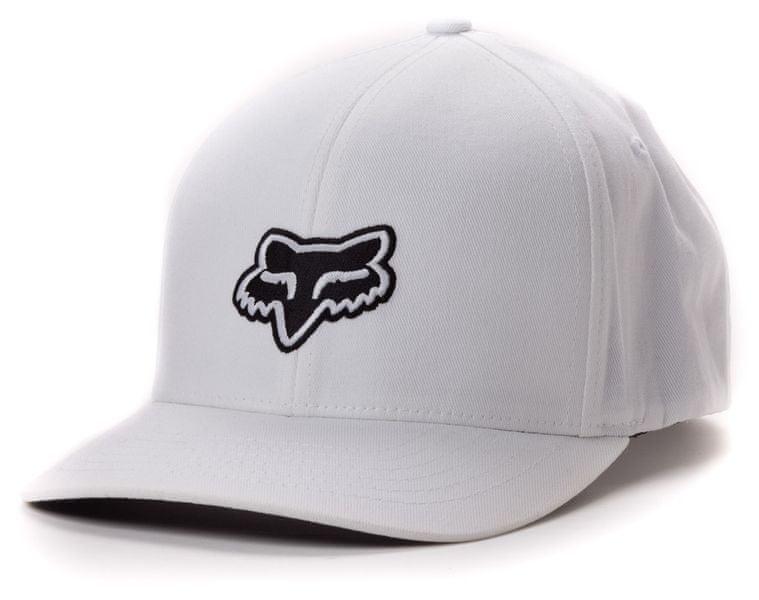 FOX pánská kšiltovka Legacy Flexfit S/M bílá