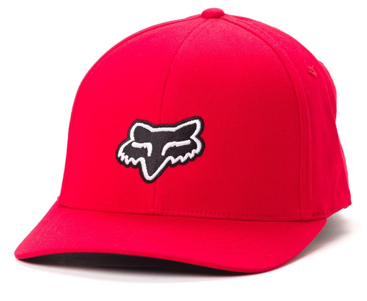 FOX pánská kšiltovka Legacy Flexfit S/M červená