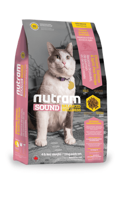Nutram Sound Adult/Senior Cat 6,8kg