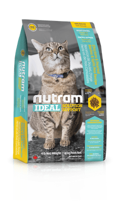 Nutram hrana za odrasle mačke Ideal Weight Control Cat, 6,8kg