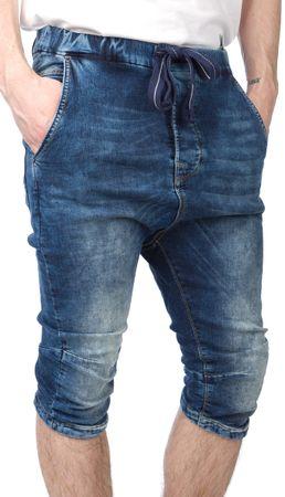 Pepe Jeans moške kratke hlače Caden 32 modra
