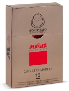 Caffé Musetti Mio Espresso kapsle 100 ks