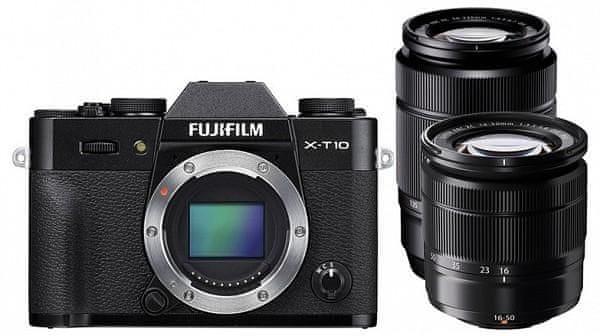 FujiFilm X-T10 + XC 16-50 + XC 50-230 Black