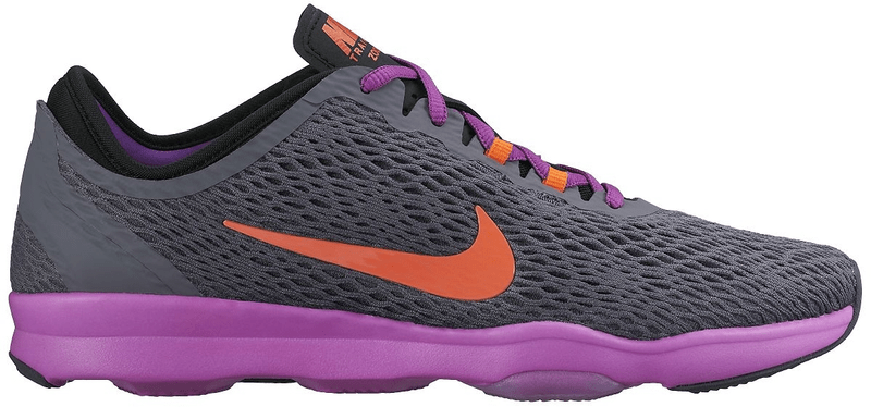 Nike Air Zoom Fit Dark Grey/Hypr Orange-Vvd Prpl 40,5